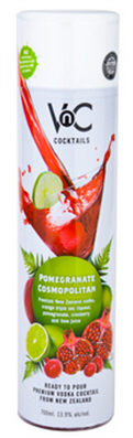 Vnc Cocktails Pomegranate Cosmopolitan